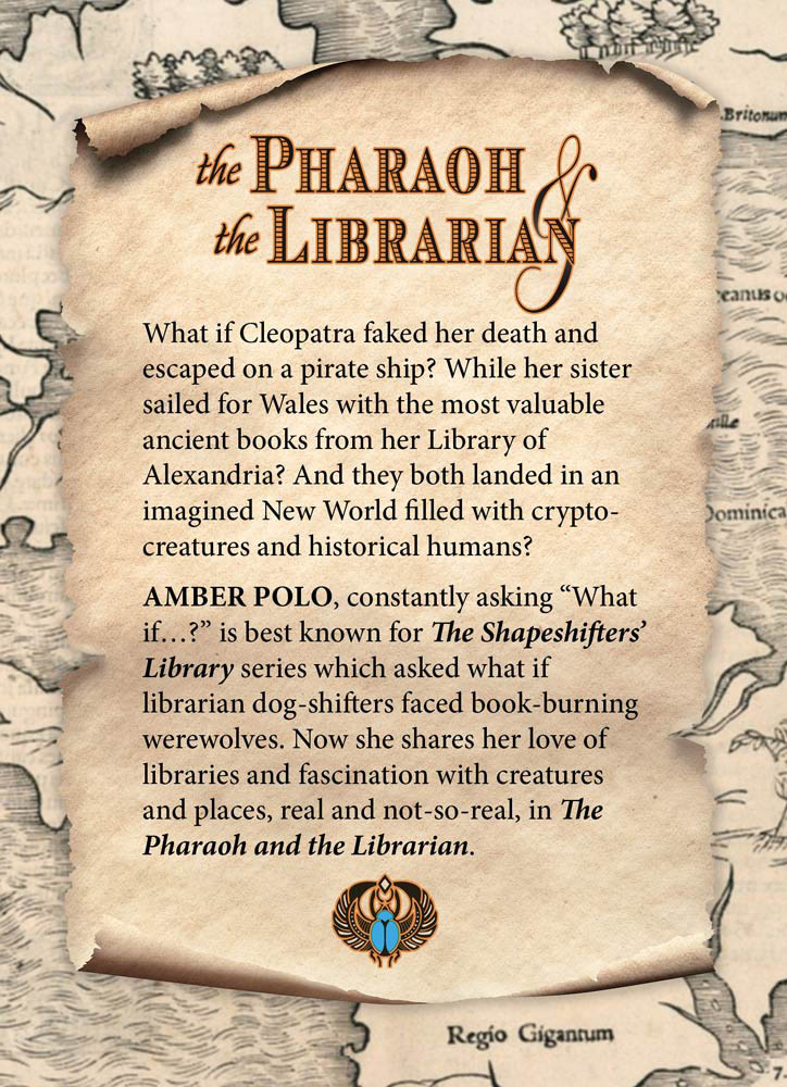The Pharaoh and the Librarian Back cover